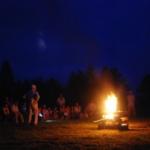 キャンプたき火写真② のコピー